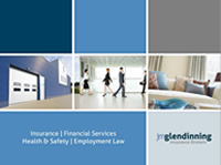 JM Glendinning Insurance Brokers brochure