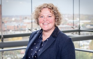 JM Glendinning's new private client account executive, Wendy Cornwell-Vernon