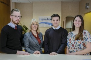 JM Glendinning's Scarborough team who have all been awarded the Level 3 Certificate in Insurance from the Chartered Institute of Insurance (CII) – a core qualification for people working in the industry.