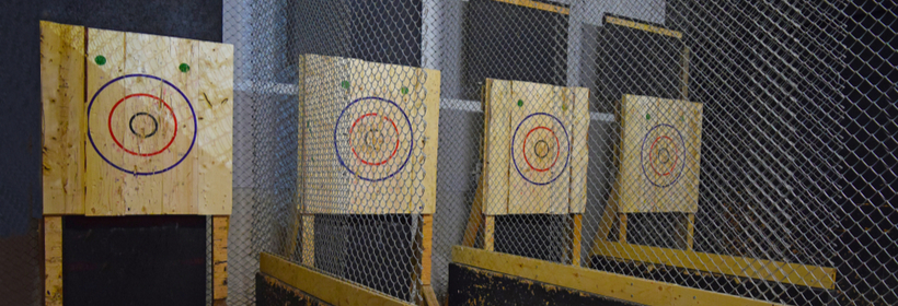 Axe Throwing Range Insurance - J M Glendinning